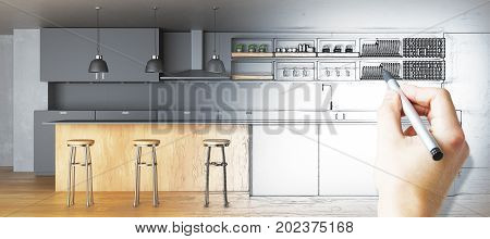 Kitchen Plan Concept