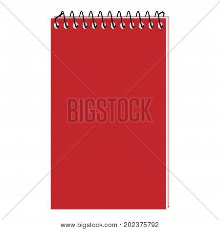 Spiral Notepad Vector