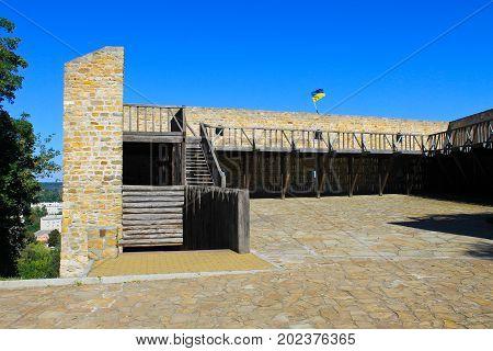 Bastion of hetman Doroshenko in Chigirin Ukraine