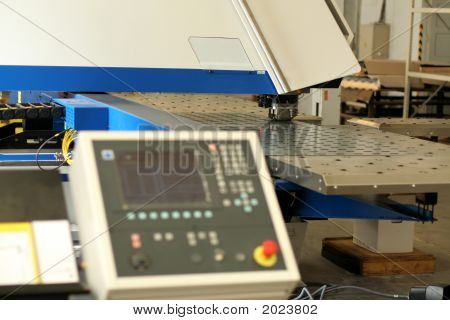 Punching Machine And Work Conveyor
