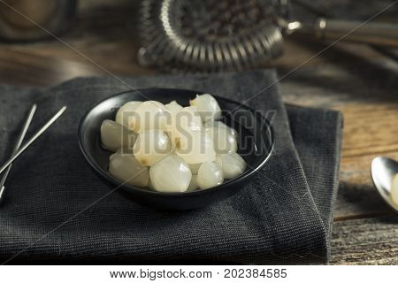 Organic Pickled White Cocktail Onions