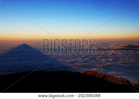 Pico Volcano in Azores, Portugal, Europe
