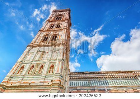 Santa Maria Del Fiore(cattedrale Di Santa Maria Del Fiore) And Giotto's Belltower (campanile Di Giot