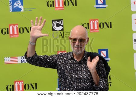 Giffoni Valle Piana Sa Italy - July 21 2017 : Gabriele Salvatores at Giffoni Film Festival 2017 - on July 21 2017 in Giffoni Valle Piana Italy