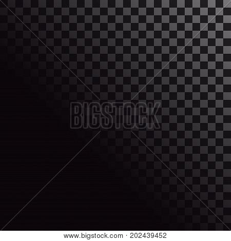 Check background backdrop template. Checkered pattern and square pattern. Vector illustration