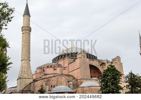 Mosque In Instanbul, Turkey