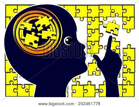 Developing Logical Thinking. Puzzles are brain teasers for kids in early childhood education