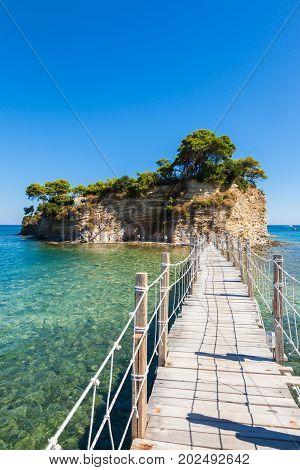 Cameo Island In Zakynthos (zante) Island, In Greece