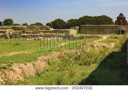 Danaik Enclosure or Dannayaka enclosure is an important inner district of the Vijayanagar capital in Hampi, Karnataka, India.