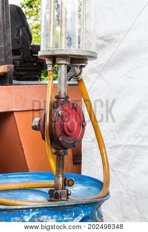 Manual Rotary Barrel Pump