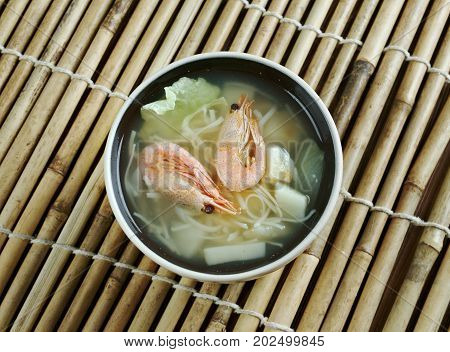 Cantonese Seafood Soup