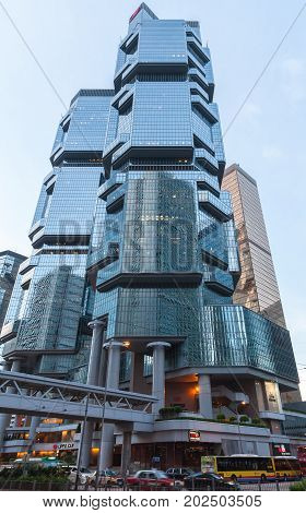 Lippo Centre Towers, Hong Kong