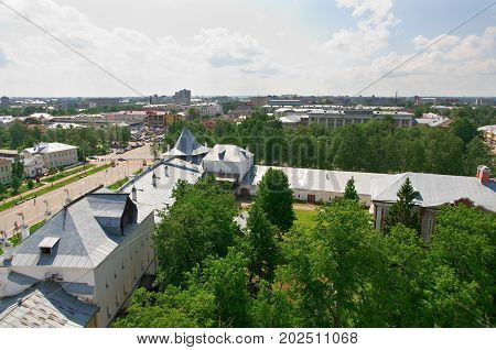 Aerial view Vologda RUSSIA  , russian   travel