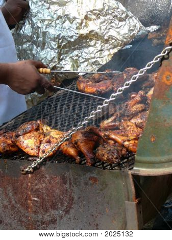 Traditional Jamaican Jerk Chicken
