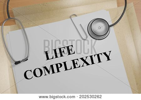 Life Complexity - Medical Concept