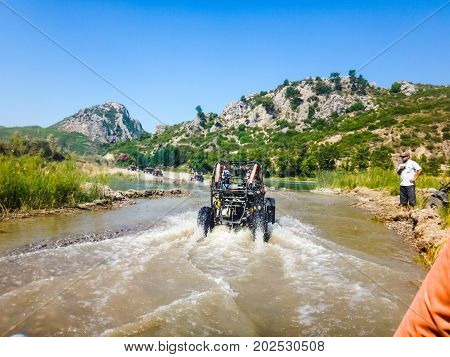 Buggy Safari Tour In Mountain In Turkey