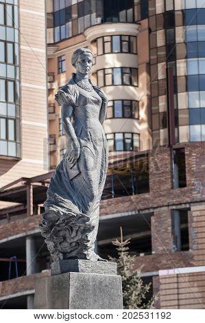 Lesya Ukrainka Statue