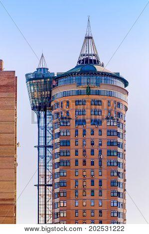 Modern Building In Kiev