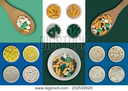 Medicine Pills Isolated