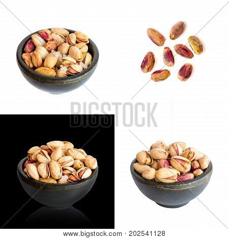 Inshell Pistachios And Peeled Pistachios
