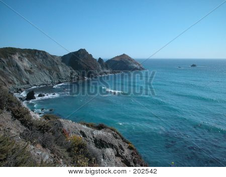 Pacific Ocean South Coast California