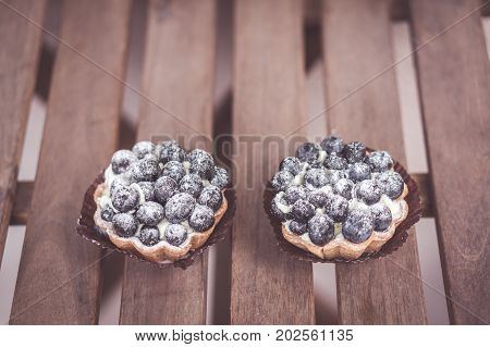 Two Blueberry Pies