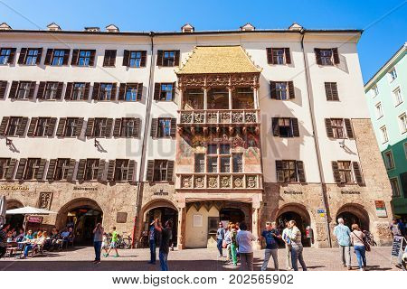 Goldenes Dachl Golden Roof