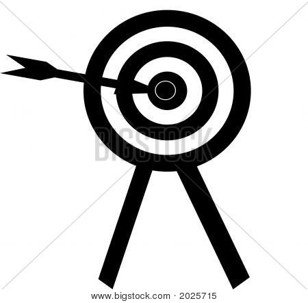 Bullseye Art Illustration