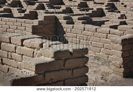 Pueblo ruins excavated and restored at Coronado National Monument