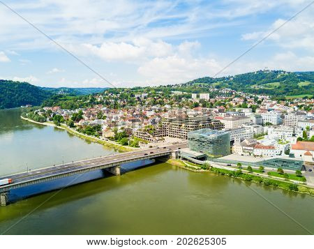 Linz Aerial Panoramic View