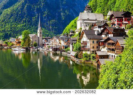 Hallstatt Old Town, Austria