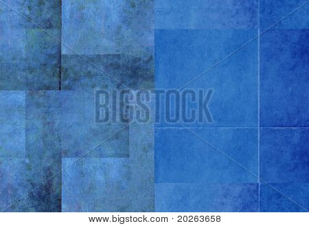 earthy blue background