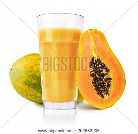 Papaya Juice In Glass