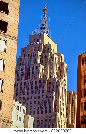 Downtown Detroit Archetcture