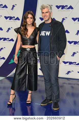 LOS ANGELES - AUG 27:  Max Joseph and Priscila Joseph arrives for the MTV Video Music Awards 2017 on August 27, 2017 in Inglewood, CA