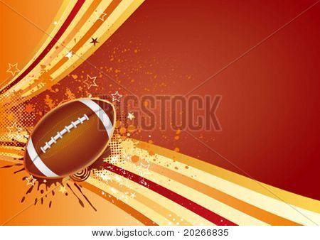american football sport design element