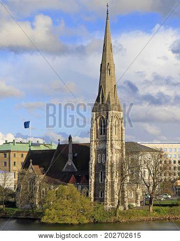 Saint Alban's Church In Copenhagen