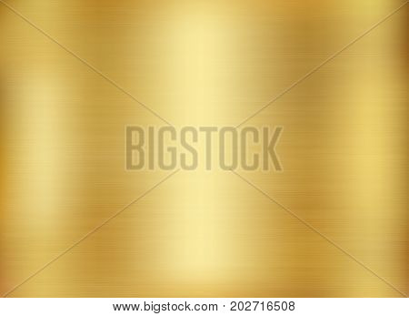 Gold background gold polished metal. Gold metal texture background