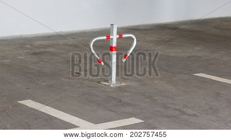 Metal Barrier For Private Parking