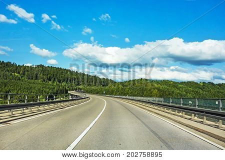 Road Over Valley