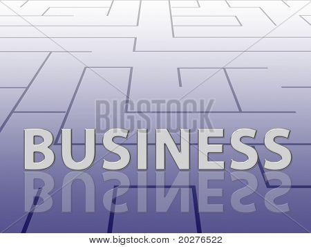 Labyrinth concept, business theme