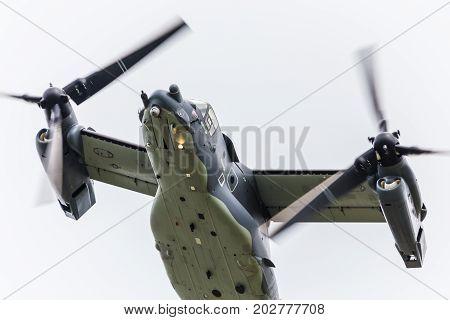 Cv-22 Osprey Overflies