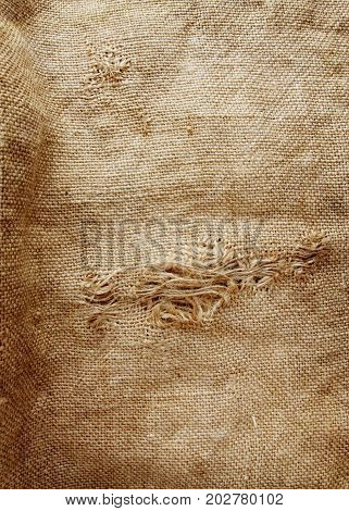 hessian texture can be used as background in grunge style