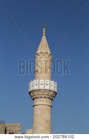 Minaret Of Bodrum Castle Mosque