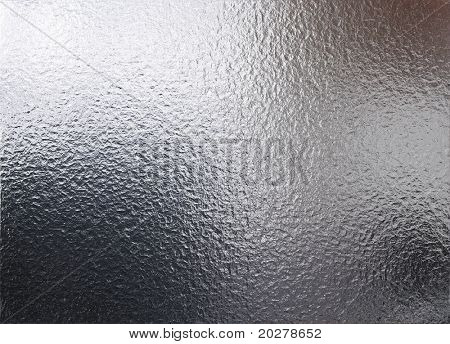 Abstract chrome or metal foil texture