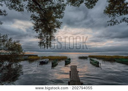 the lake Pleshcheevo in the city of Pereslavl-Zalessky has the old story connected with migration of Slavs one thousand years ago. There are traces of people and about five thousand years ago.