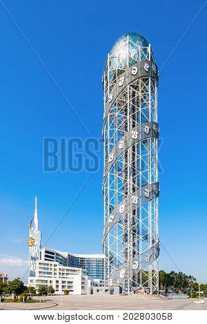 Alphabetic Tower, Batumi