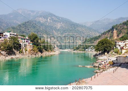 Rishikesh In India