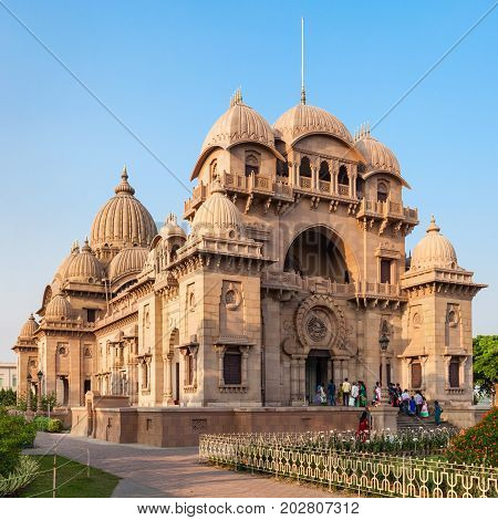 Belur Math or Belur Mutt is the headquarters of the Ramakrishna Math and Mission founded by Swami Vivekanandaa. It is located in Kolkata West Bengal India. poster