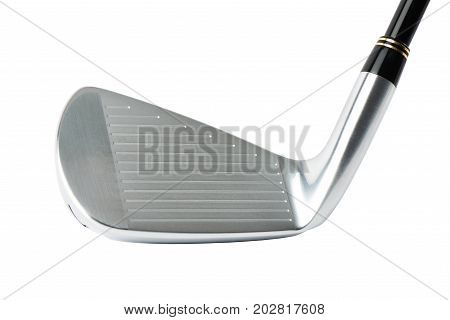 Closeup Of Golf Club Head